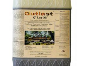 Outlast Q8 Log Home Oil 1 Gallon