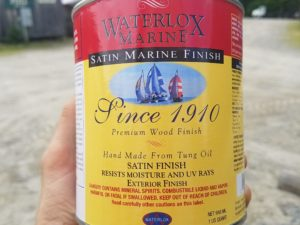 Waterlox Marine Satin Finish